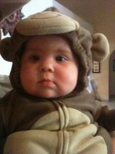 G's monkey costume